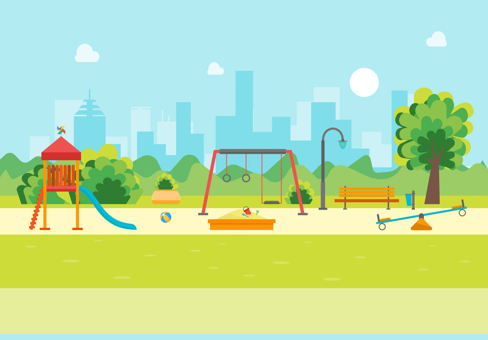 Park Playground clipart png