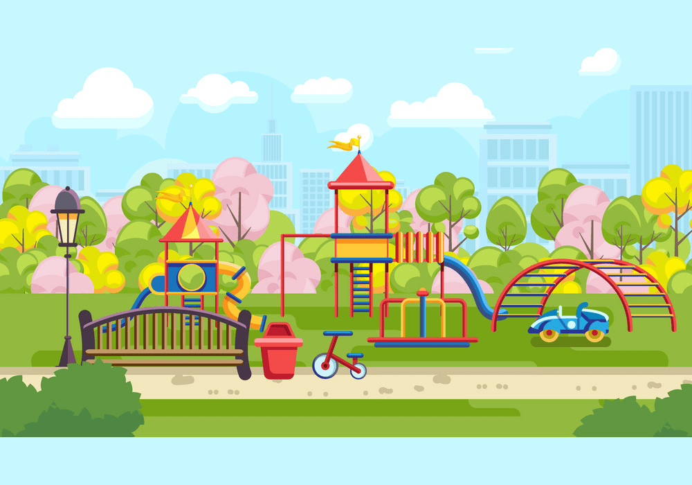 Park Playground clipart