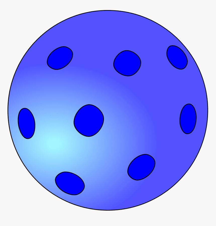Pickleball Ball clipart 1