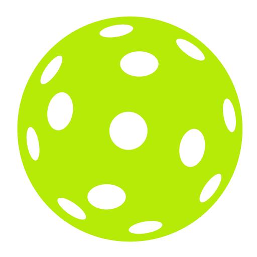 Pickleball Ball clipart 3