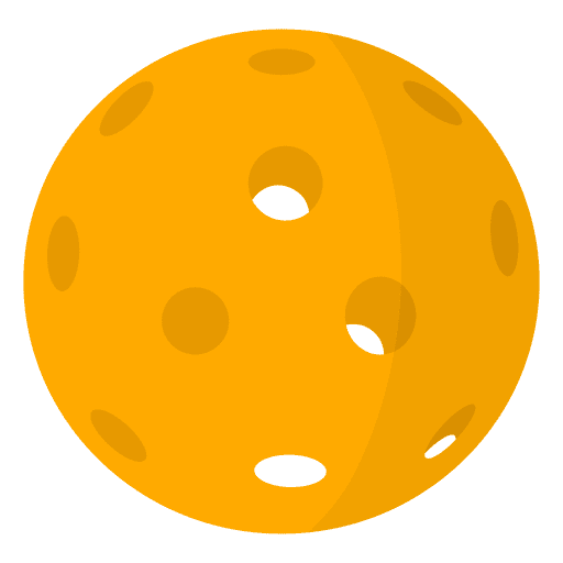 Pickleball Ball clipart png image