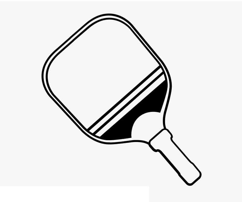 Pickleball Paddle clipart 4