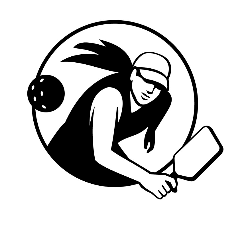 Pickleball clipart images