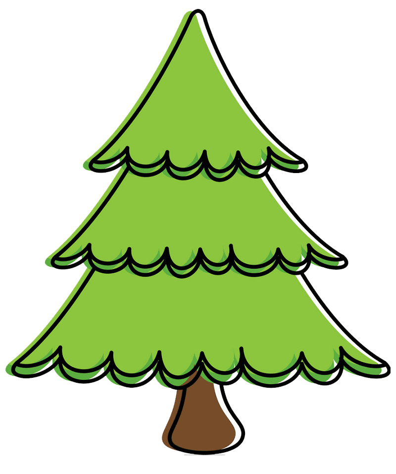 Pine Tree clipart transparent 4
