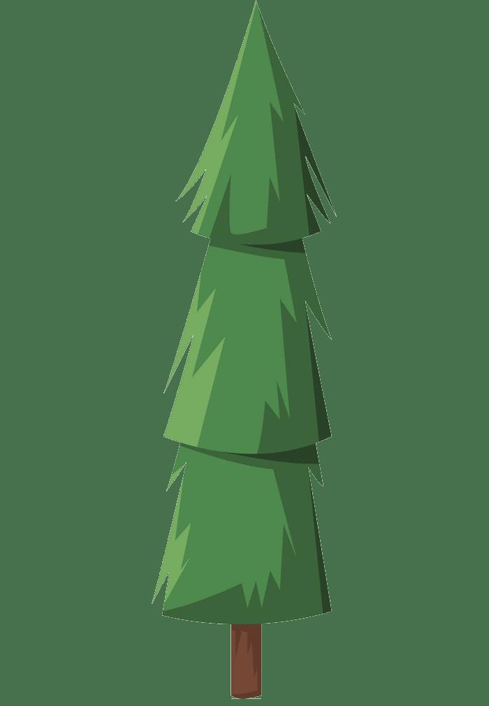 Pine Tree clipart transparent background 2