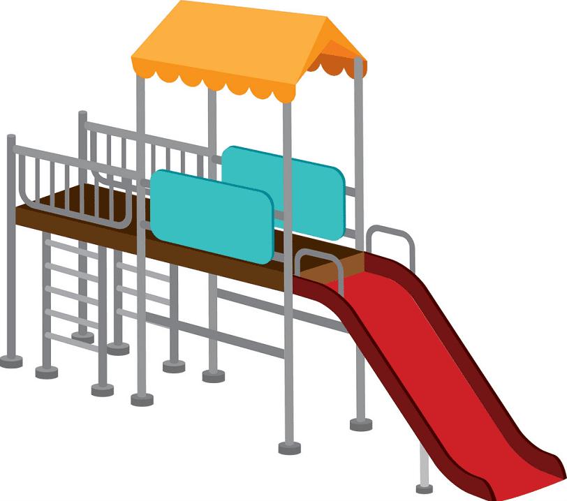 Playground Slide clipart 11
