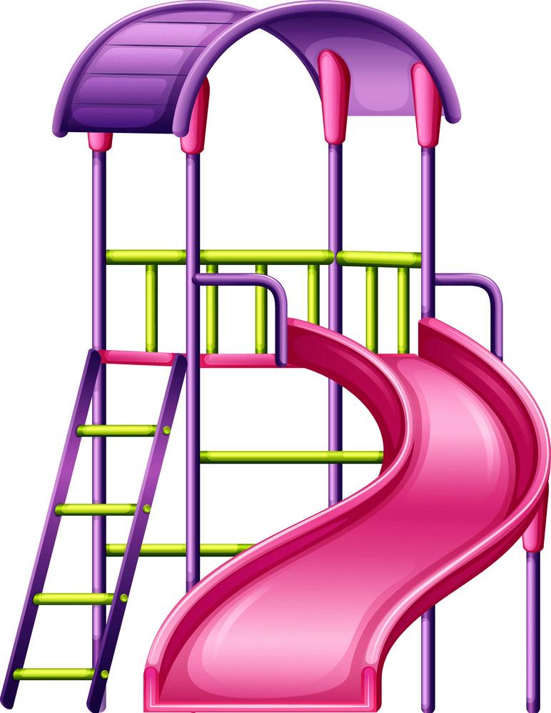 Playground Slide clipart 3
