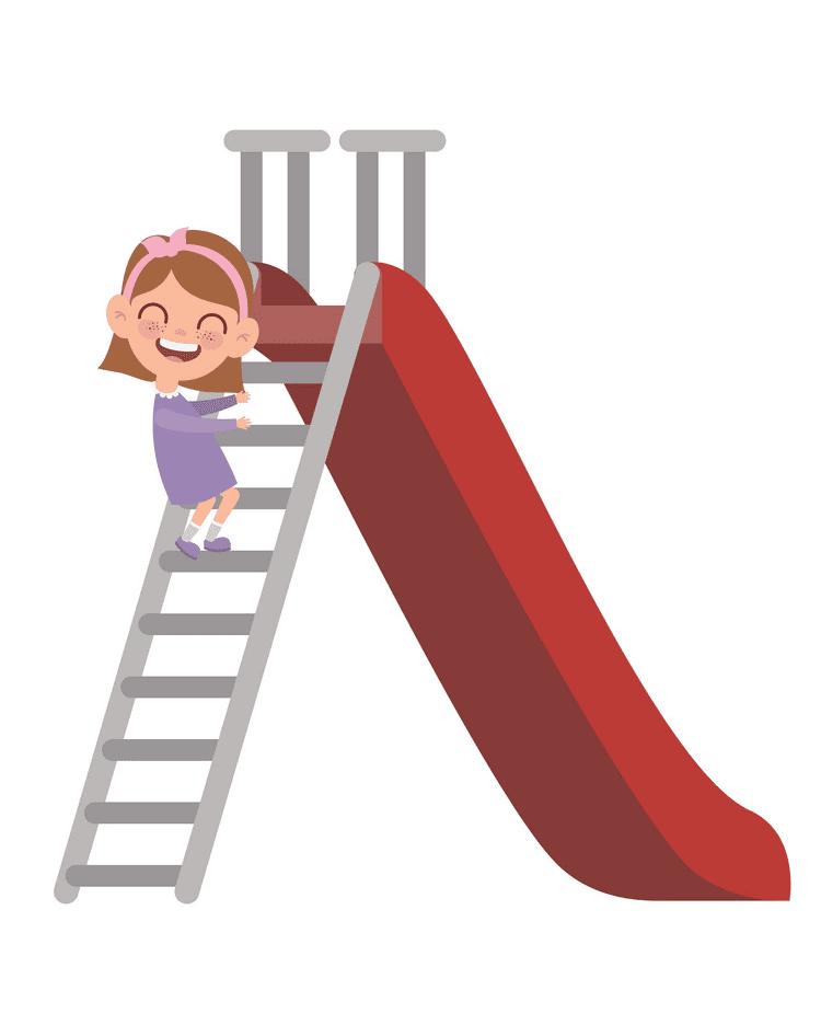Playground Slide clipart 7