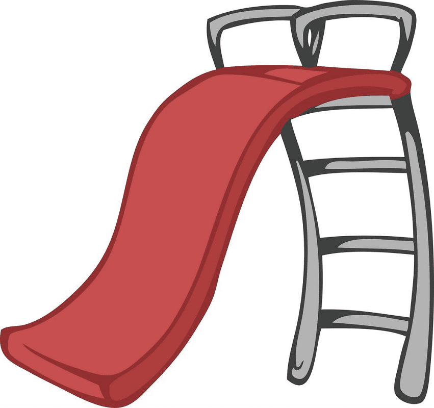 Playground Slide clipart 8