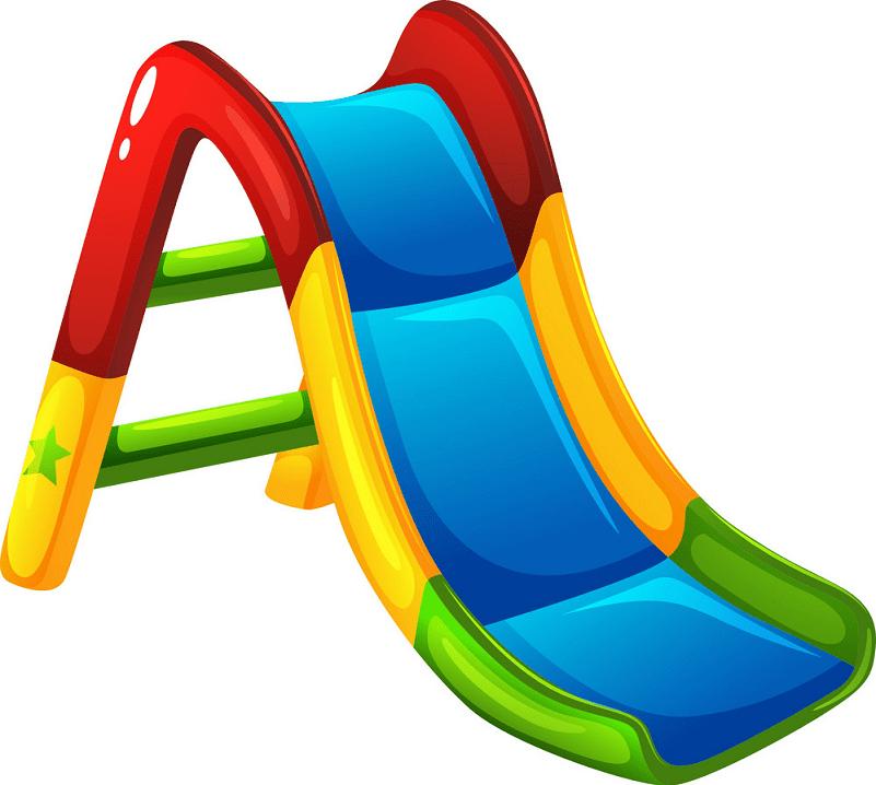 Playground Slide clipart free image