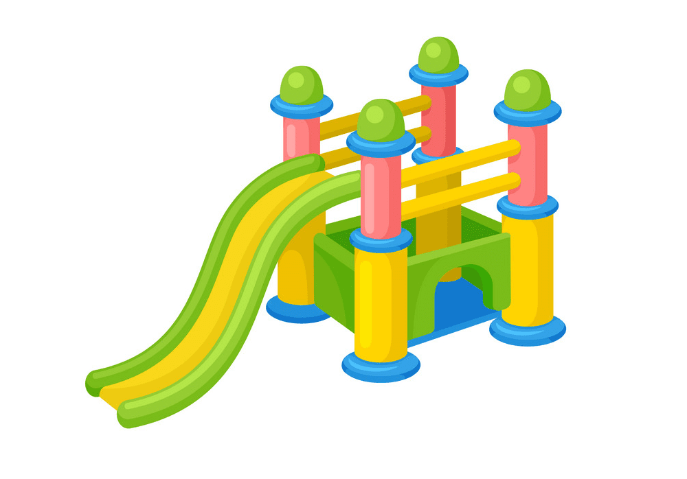 Playground Slide clipart free images