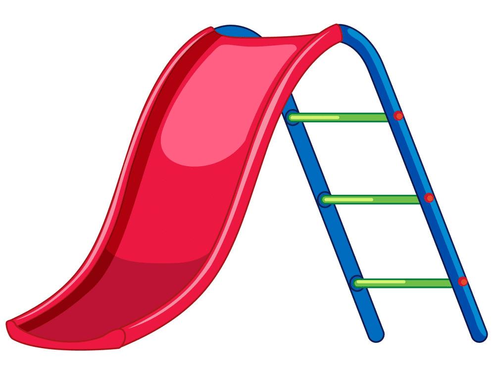 Playground Slide clipart free