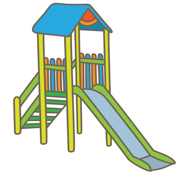 Playground Slide clipart image