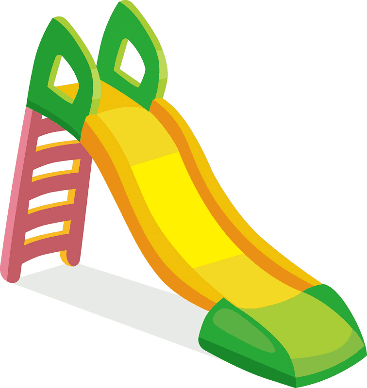 Playground Slide clipart images