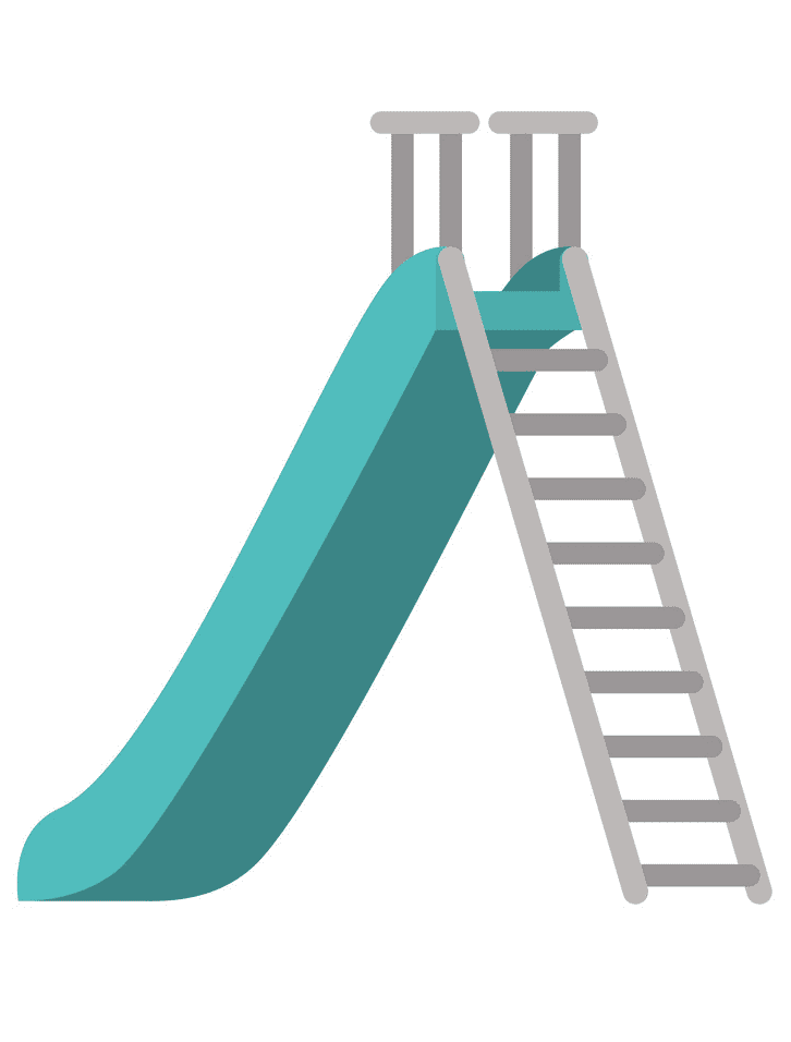 Playground Slide clipart picture