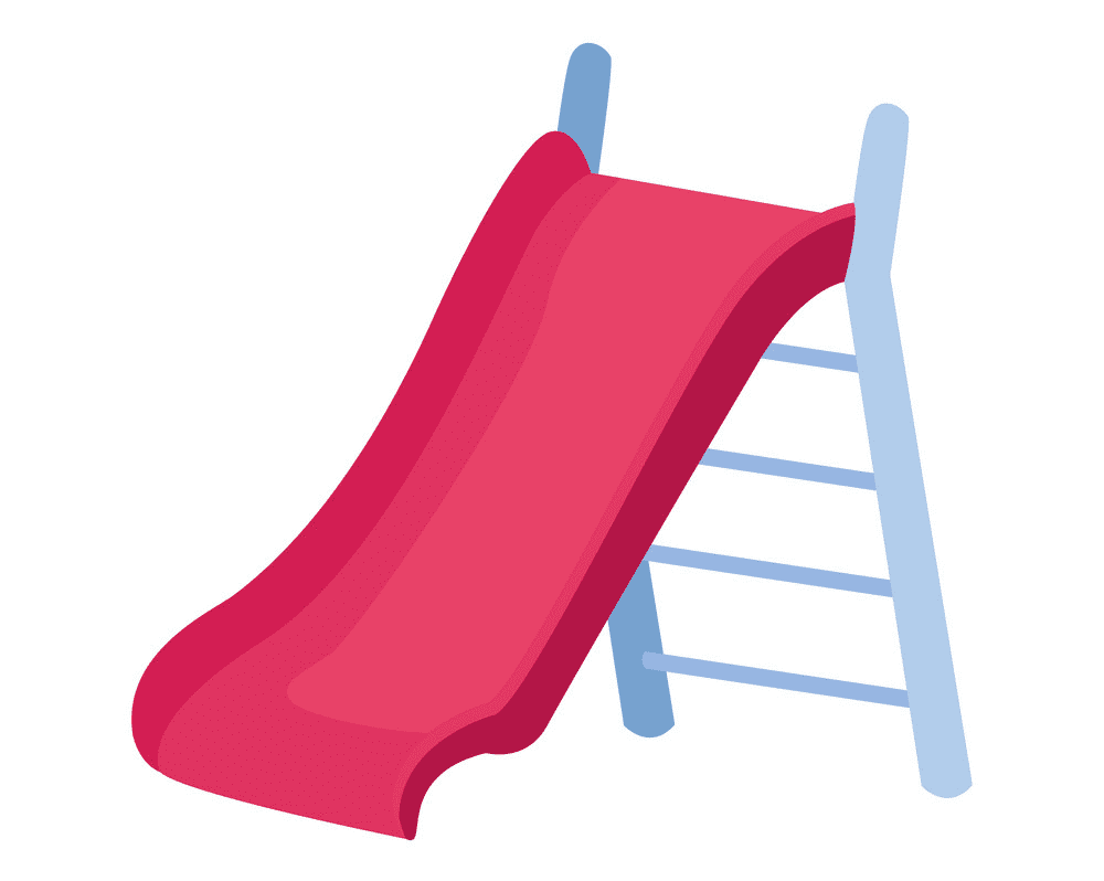 Playground Slide clipart png free