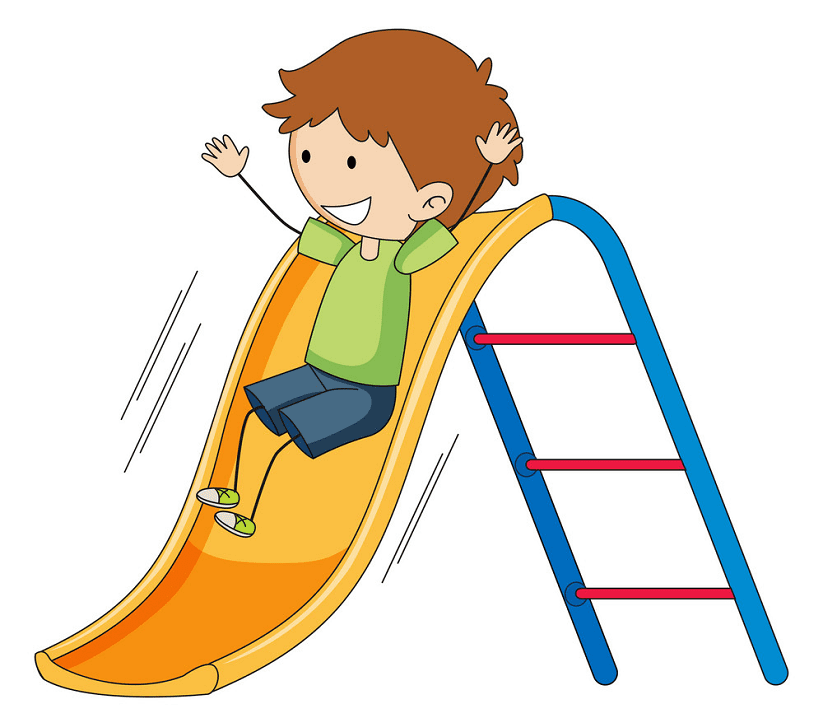 Playground Slide clipart png