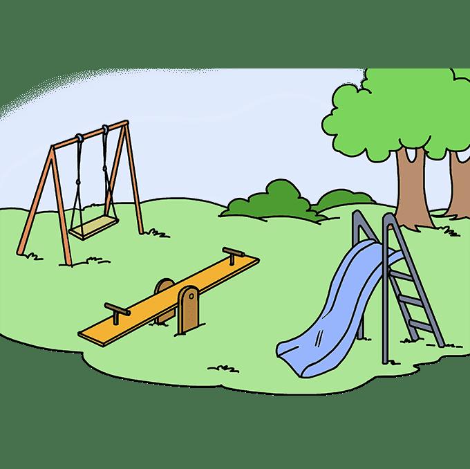 Playground clipart transparent 4