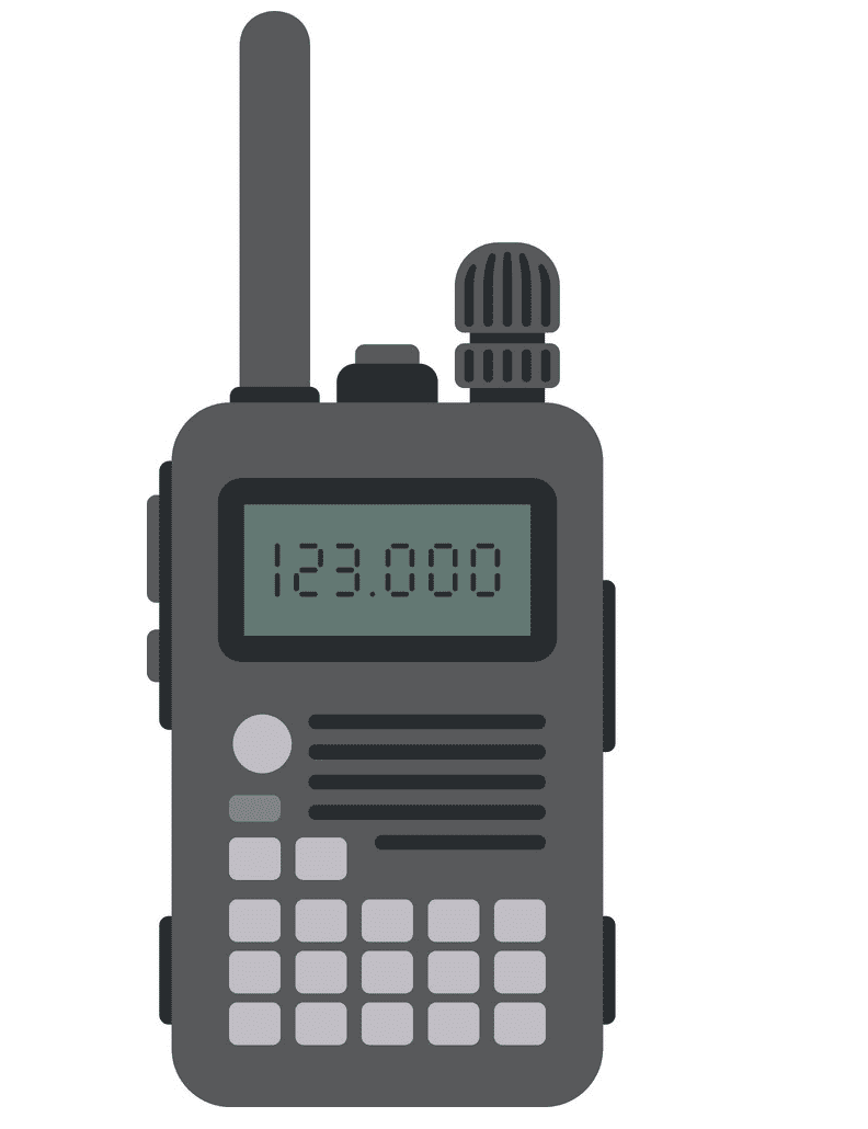Police Radio clipart png