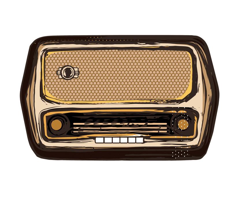 Radio clipart free 1