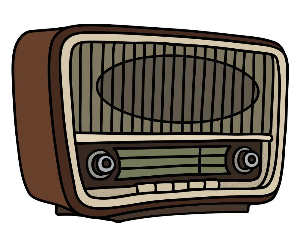 Radio clipart free image