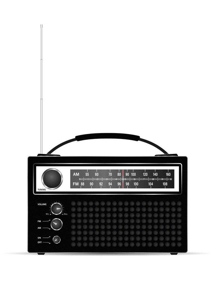 Radio clipart images 1