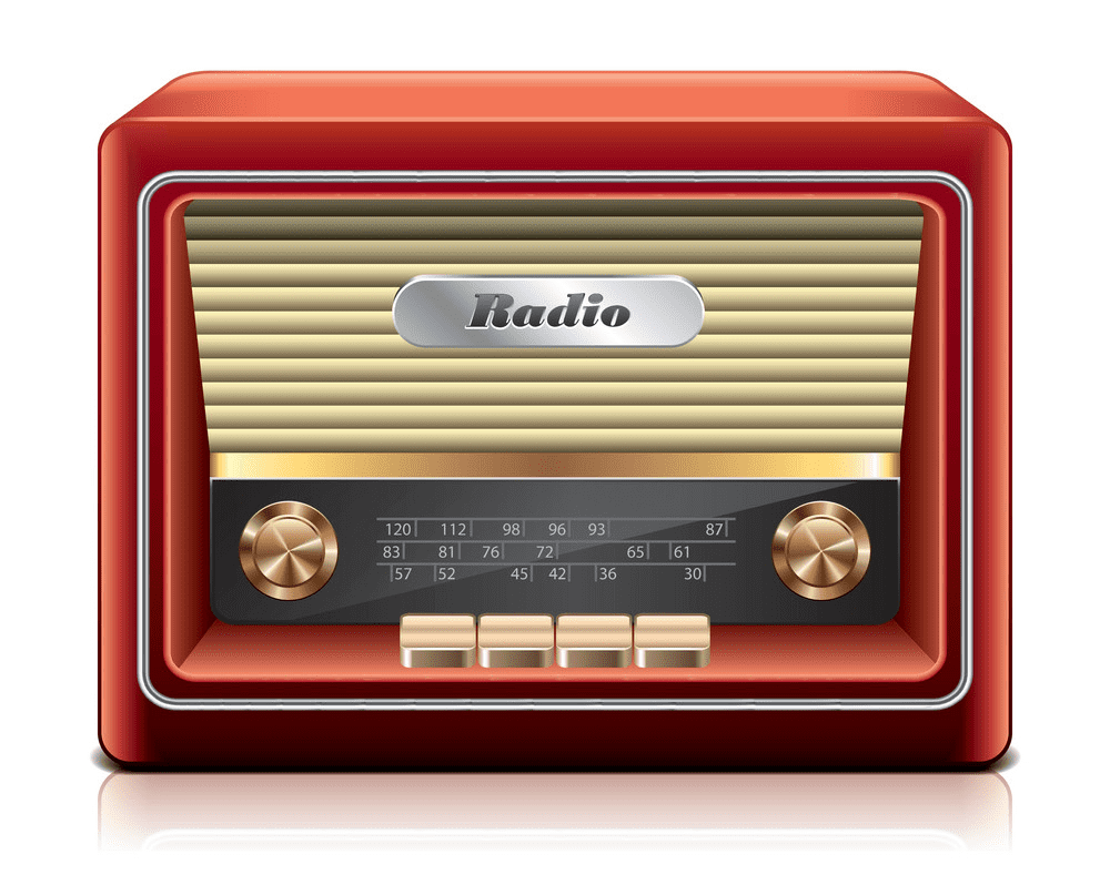 Radio clipart images