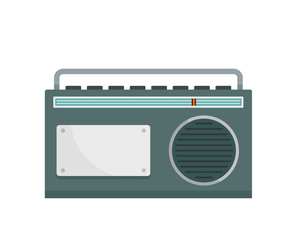 Radio clipart png 1