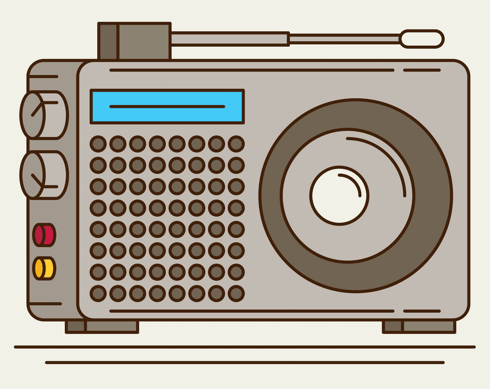 Radio clipart png free