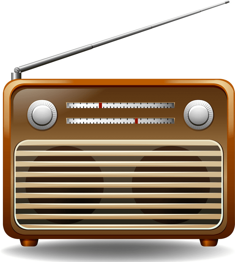 Radio clipart png