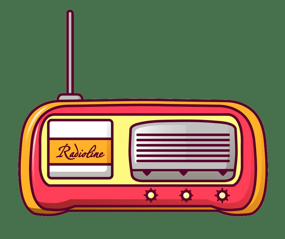 Radio clipart transparent 1
