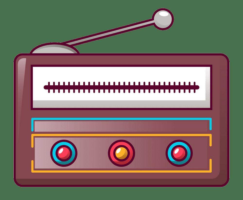 Radio clipart transparent 2
