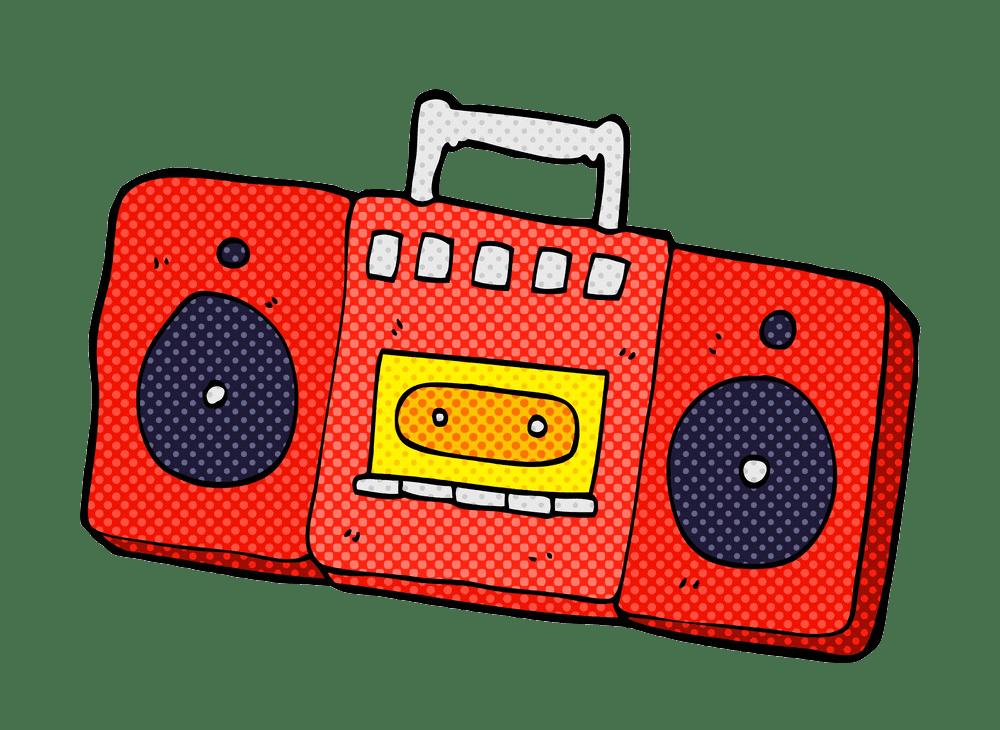 Radio clipart transparent 3