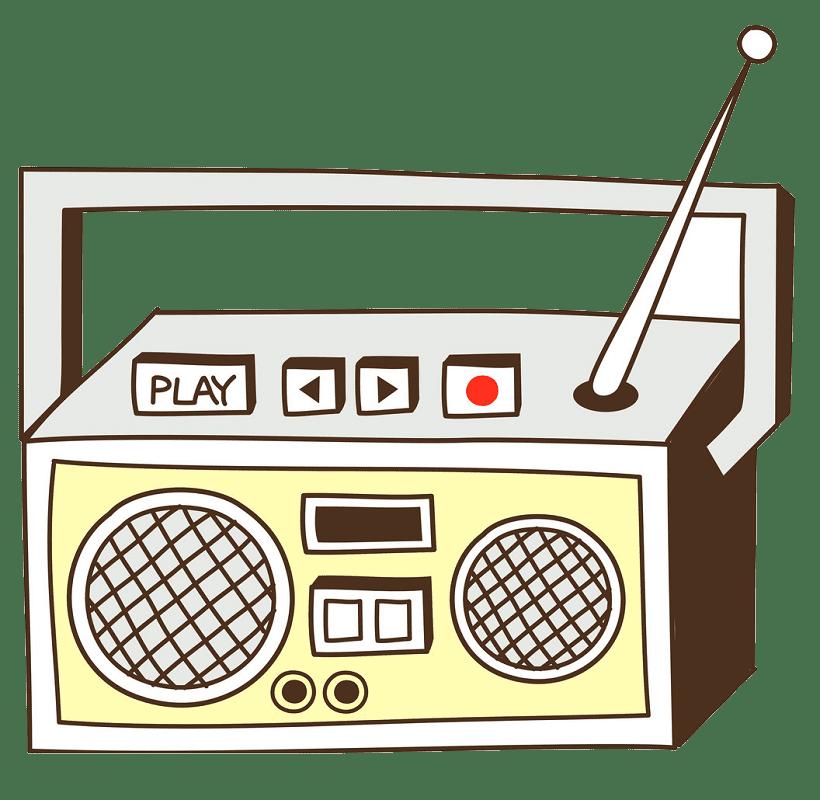 Radio clipart transparent 5
