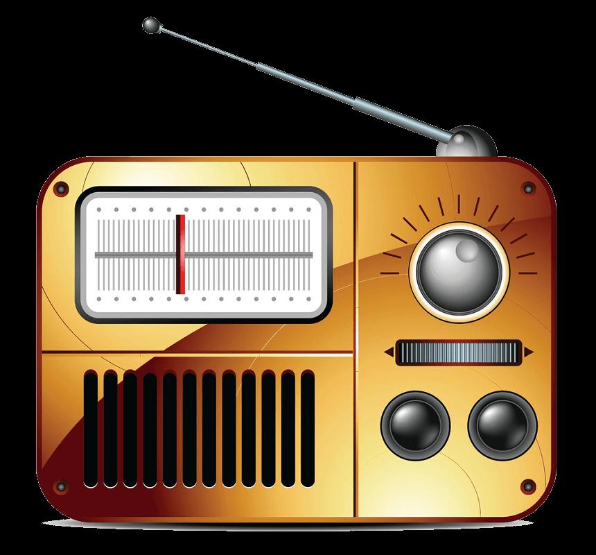 Radio clipart transparent background 1