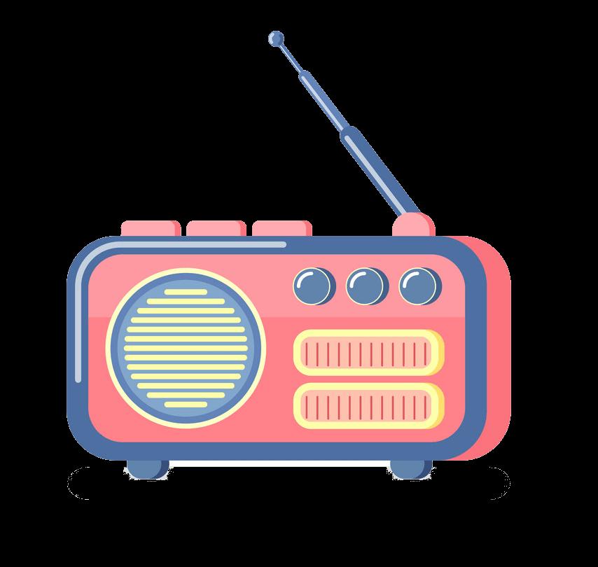 Radio clipart transparent background 2