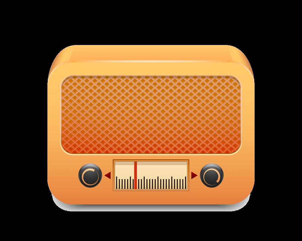 Radio clipart transparent background 3