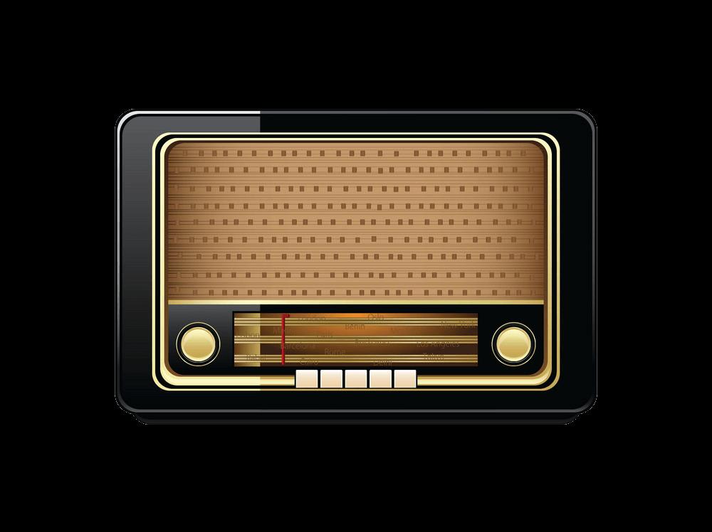 Radio clipart transparent background 4