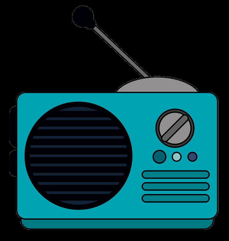 Radio clipart transparent background