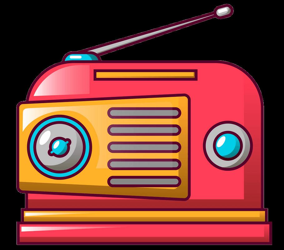 Radio clipart transparent
