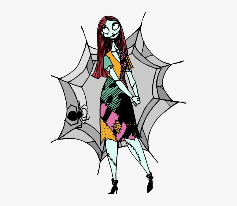 Sally Nightmare Before Christmas clipart 2
