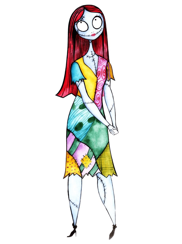 Sally Nightmare Before Christmas clipart 3