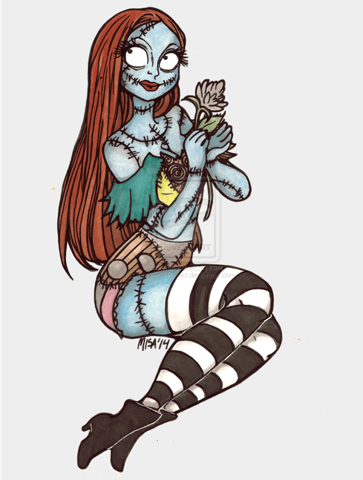 Sally Nightmare Before Christmas clipart 5