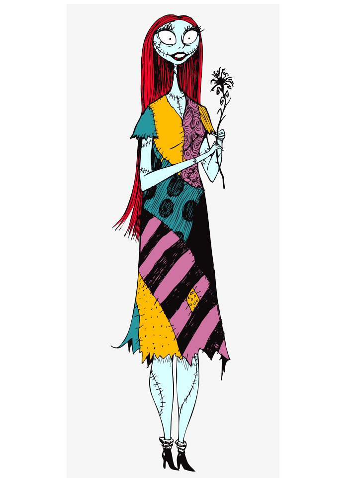 Sally Nightmare Before Christmas clipart