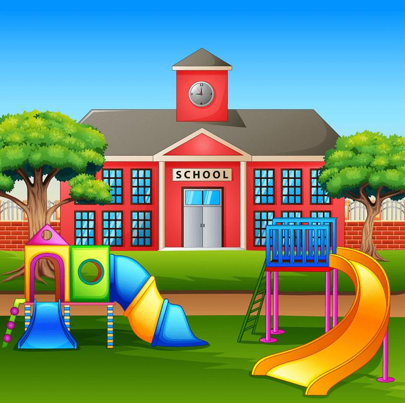 School Playground clipart 1