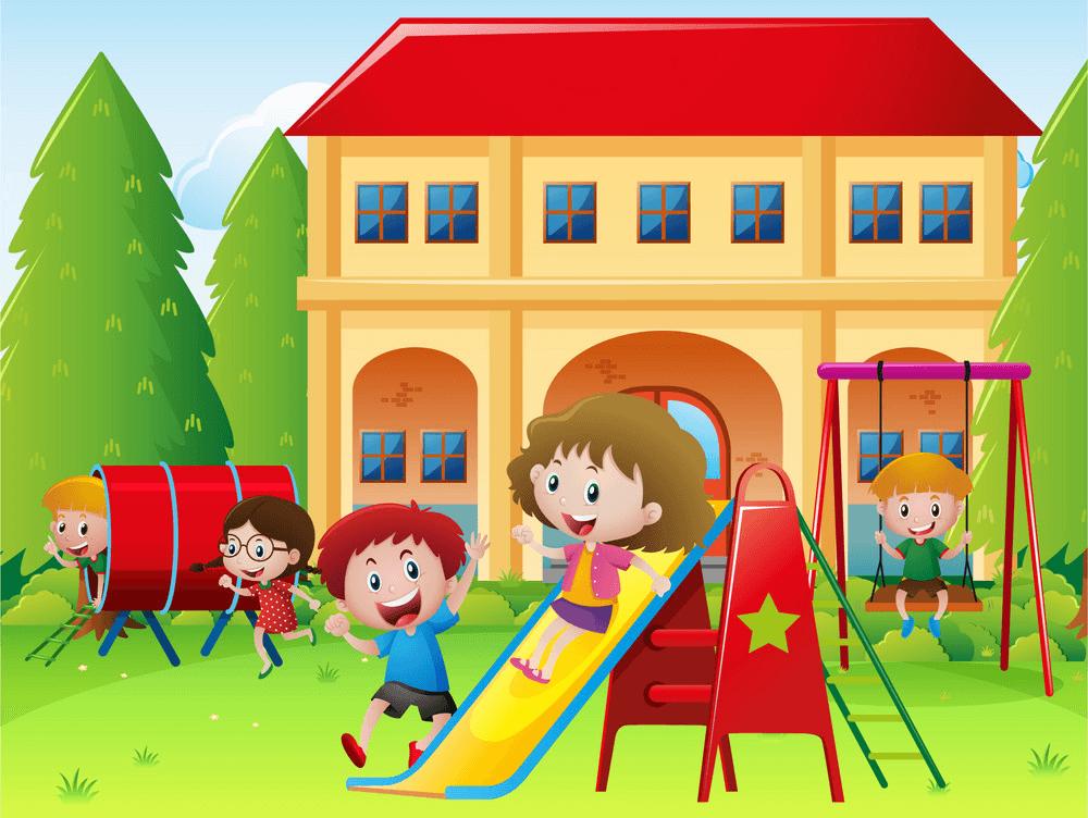 School Playground clipart free