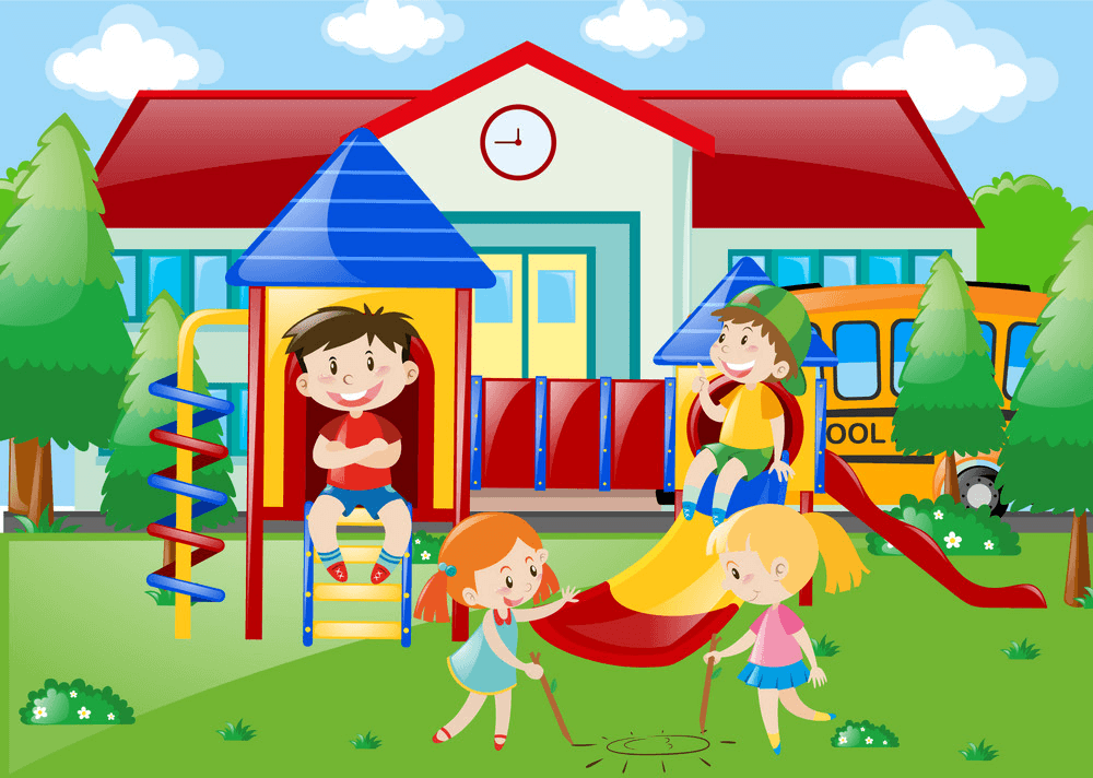 School Playground clipart png free
