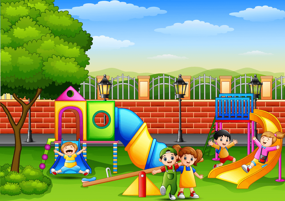 School Playground clipart png images