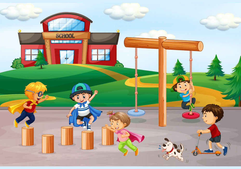 School Playground clipart png