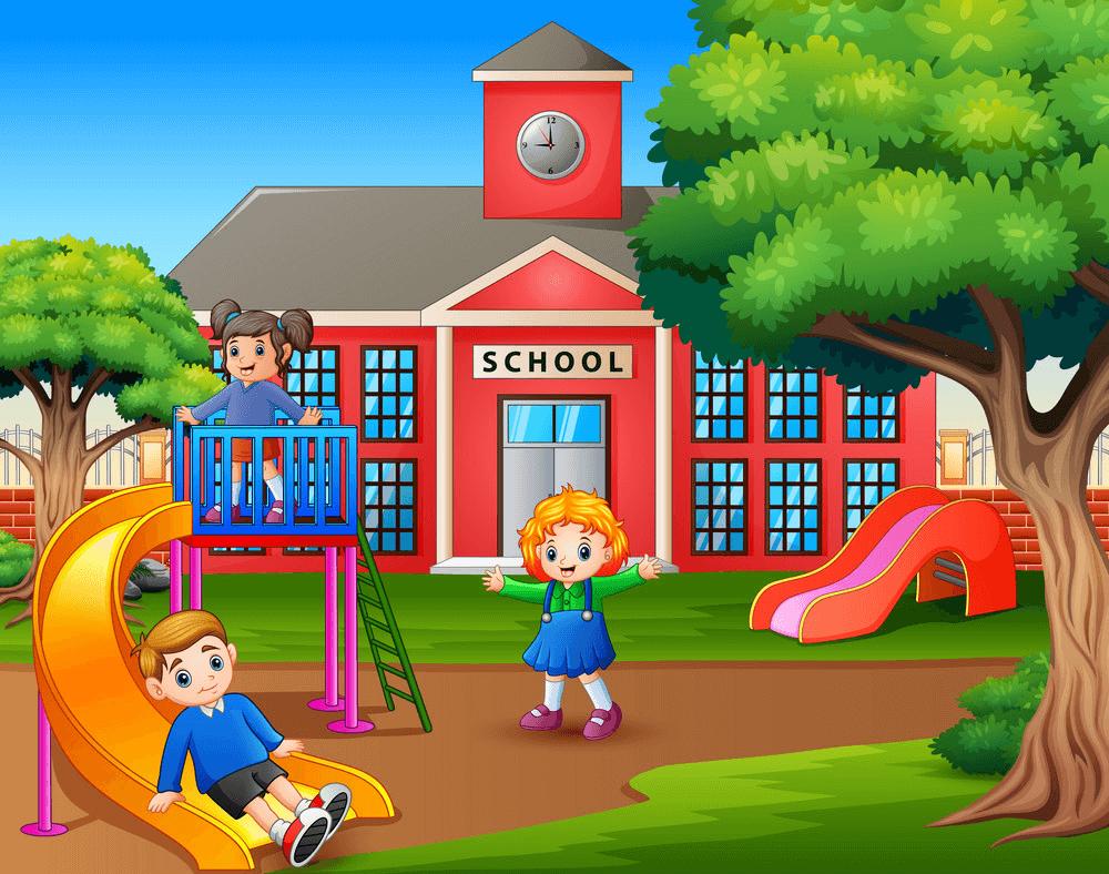 School Playground clipart